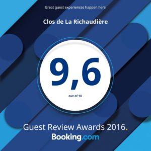 Clos de La Richaudière award numérique