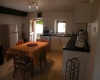 Villa Bouleau-Salle à manger et cuisine accès terrasse