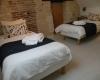 Villa Bouleau-chambre deux lits à l'étage