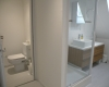 Villa Bouleau-salle de douche et toilettes à l'étage