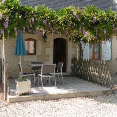 Villa Bouleau-terrasse ombragée au Clos de La Richaudière