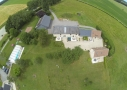 Ensemble du Clos de La Richaudière Luxury Loire Gîtes - vue panoramique