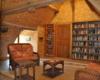 Bibliothèque au Clos de La Richaudière