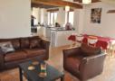 Villa Peuplier - Pièce à vivre - Le Clos de la Richaudiere - Luxury Loire Gîtes