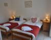 Villa Chêne - Chambre avec lits simples - Le Clos de la Richaudiere