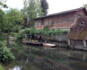 Le canal Châtillon sur Indre Clos de La Richaudière Luxury Loire Gites Crédit photos MM Van Lul