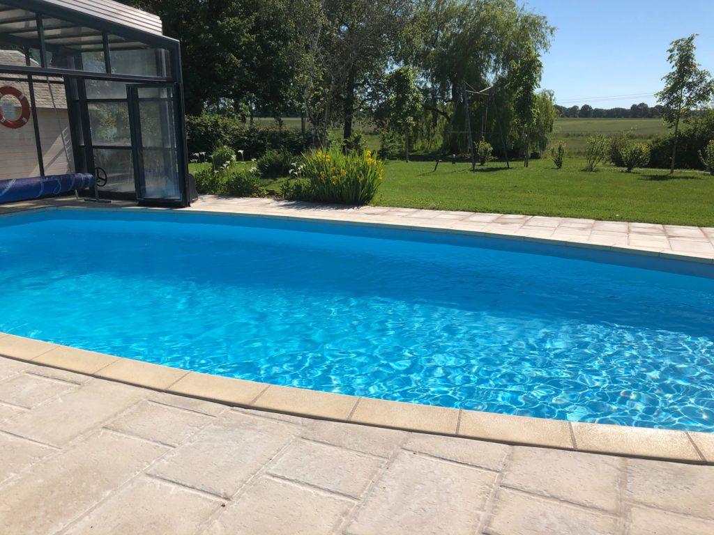 gite piscine loches beauval enfants piscine