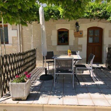 gite piscine beauval loches terrasse villa bouleau