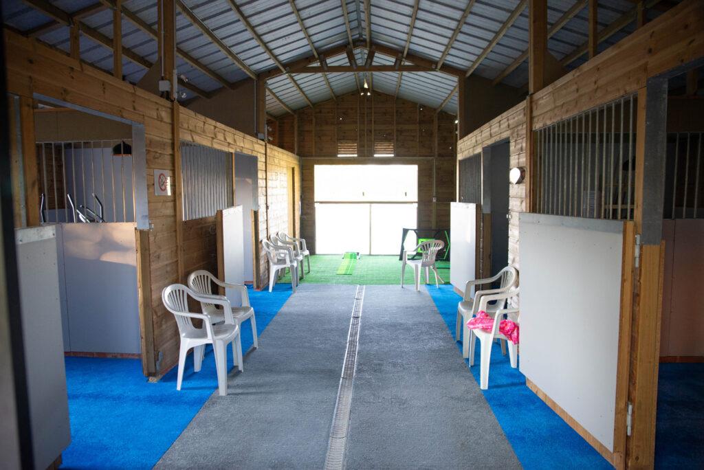Clos de la Richaudière Luxury Loire Gîtes Salle de jeux et de fitness Crédit photos Clare Mansell