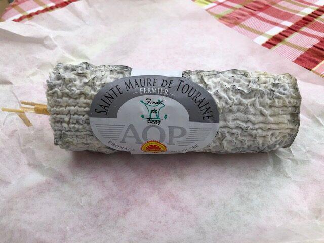 fromage sainte maure de touraine ferme de bray